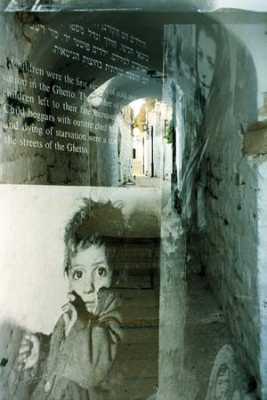 Behind The Wall, Multiple Exposure, Jerusalem & Safed, Israel