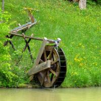1 Water Wheel, Phipps Creek, Burnsville, NC