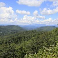 Blue Ridge Vista, Blue Ridge Parkway, Asheville area, NC