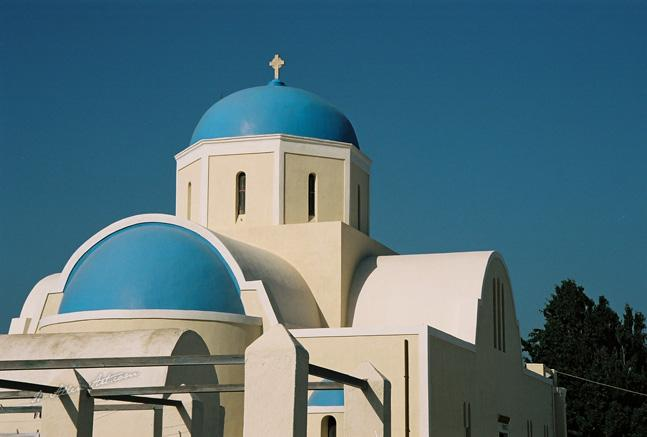 Blue Domed Church I