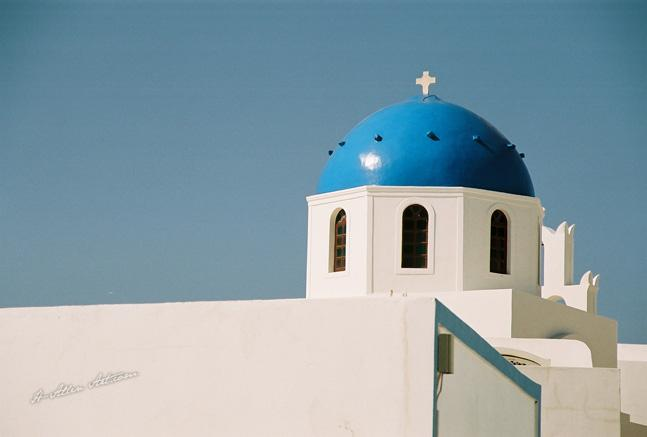 Blue Domed Church II