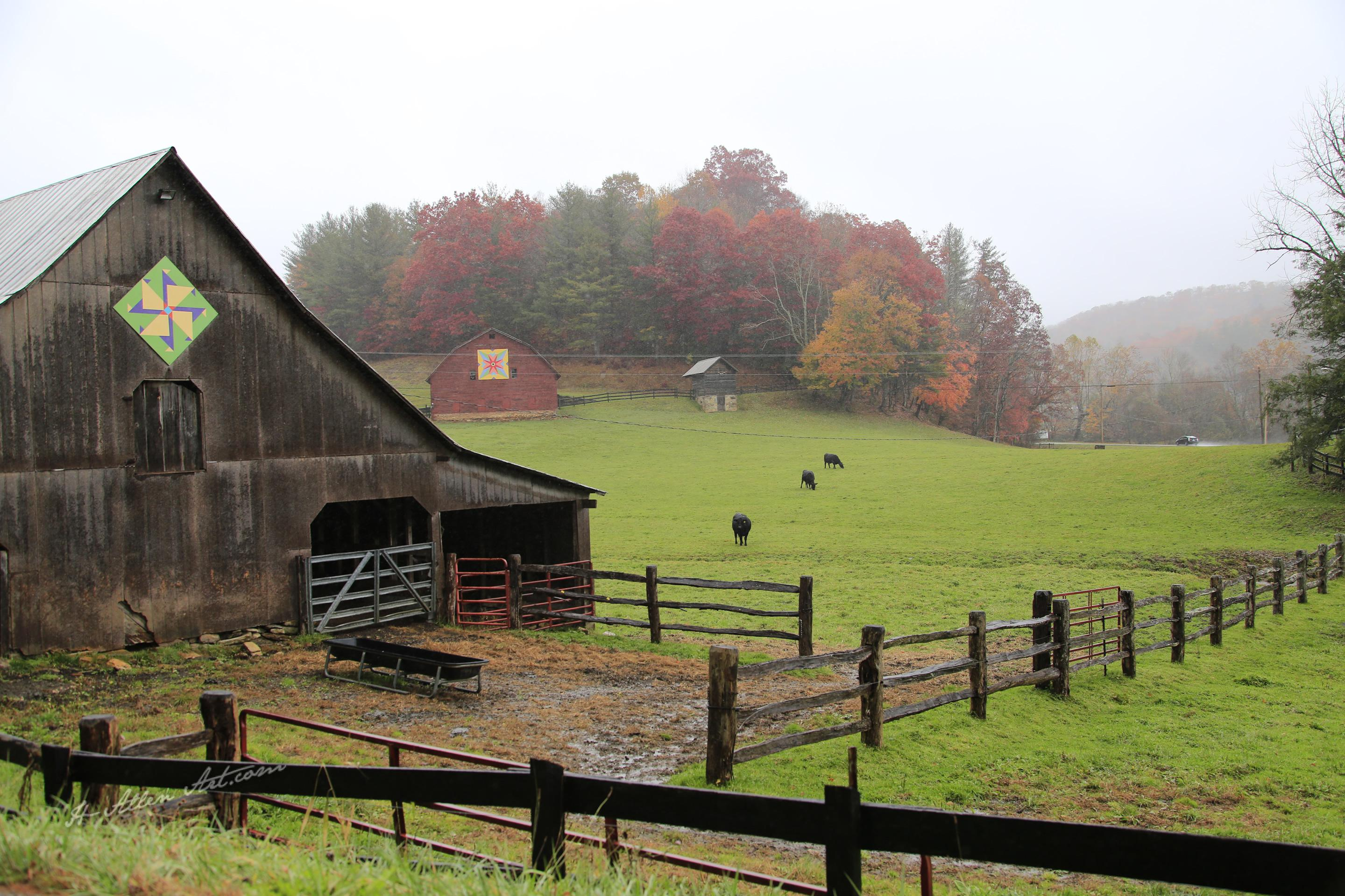 Country Barns & Pasture, Linville Falls Hwy & Stacey Branch Road, Banner Elk,  NC